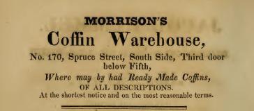 Morrison's coffin wh Spr+5 3rd dr bel 1830
