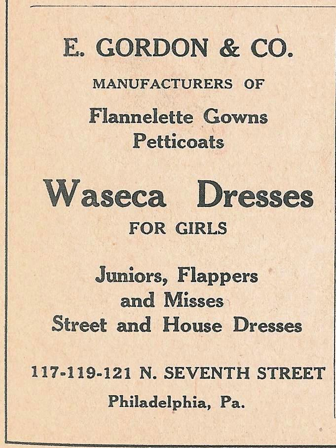 E Gordon waseca flapper dresses 121 117 7n 1925 WD p57