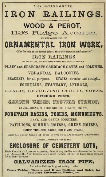 Wood+Perot iron work 1136 Rg MILITARY CEM 1864 p4