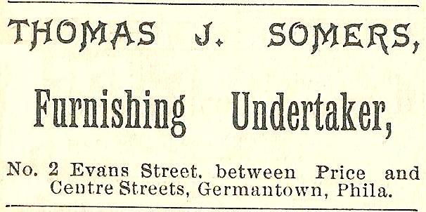Thos J Somers, furnishing undertaker 2 Evans+PRice+Center GT Boyds BusDir 1890 1346