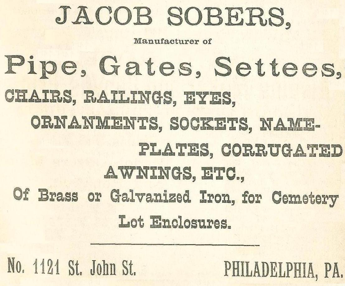 Jacob Sobers, furniture+gates 1121 St John Boyds BusDir 1890 711