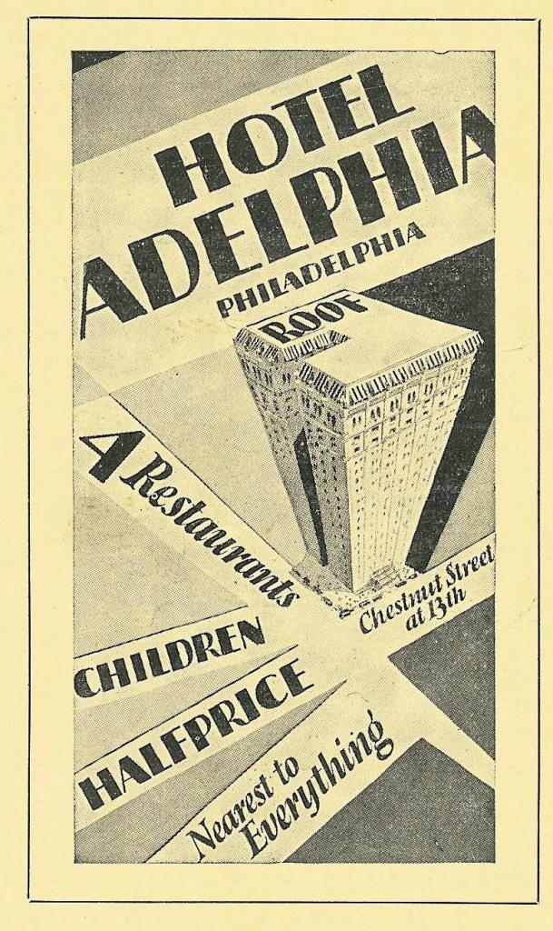 RR Adelphia Upwards 1919 Guide to Shops Service