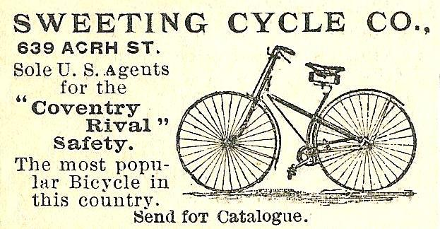 Sweeting Cycle Co 639 Arch Boyds BusDir 1890 740
