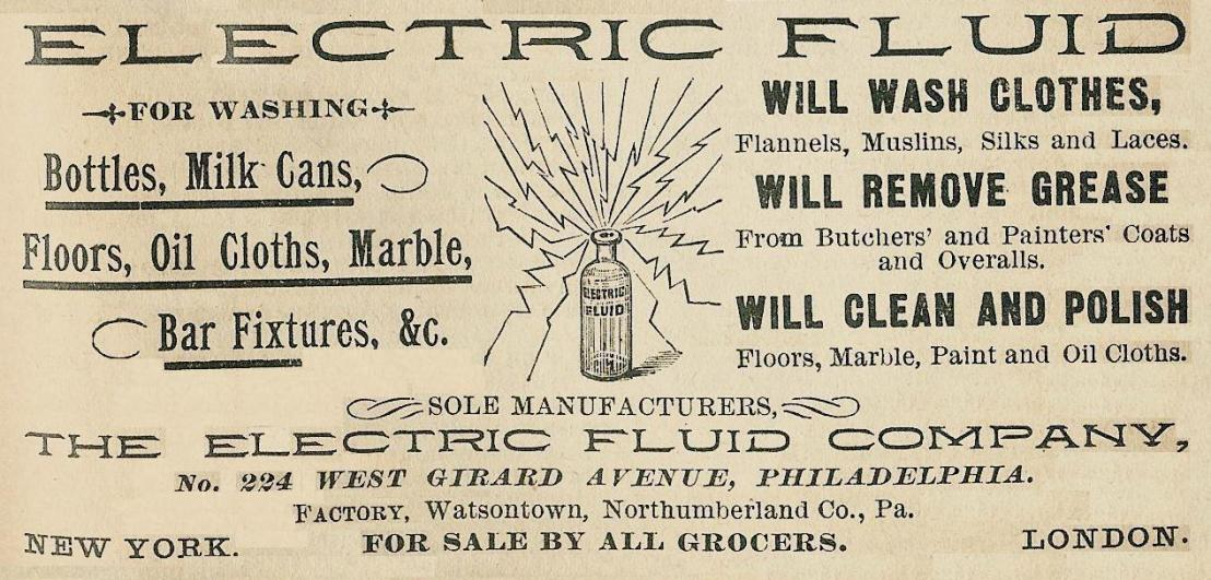 Electric Fluid Co 224 Gir Boyds Direct 1890 227