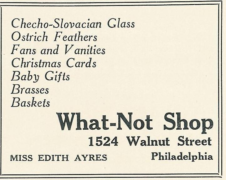What-Not 1922 Bazaar Boutique