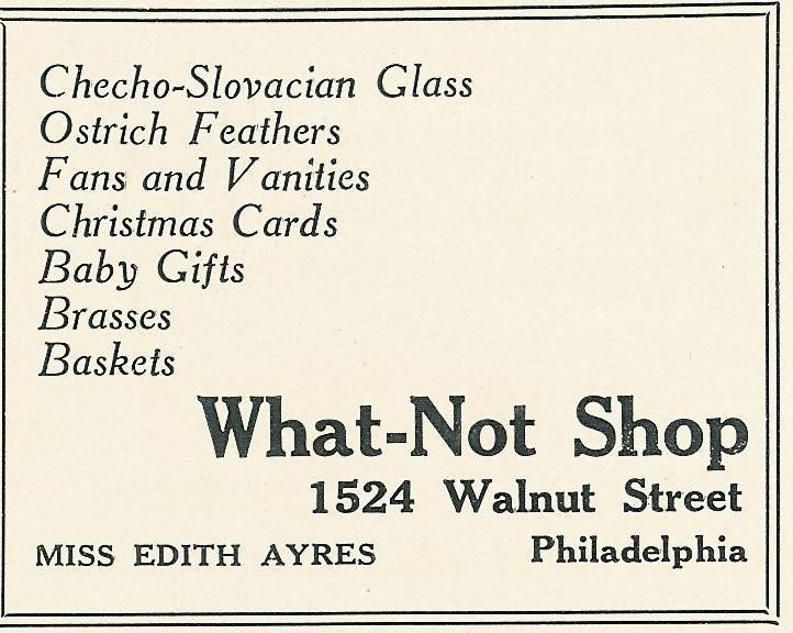 What-Not 1922 Bazaar Boutique