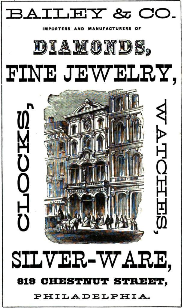 Bailey+Co, jewelry 819 Chs Freedley 1867 swords 409