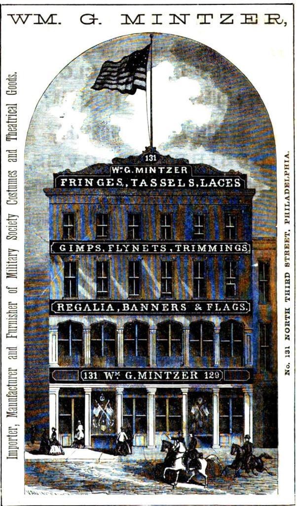 Wm G Mintzer,fringes,tassels,etc,131-29 3n